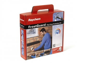 Raychem FrostGuard Self-regulating heating cable kit for pipe frost protection